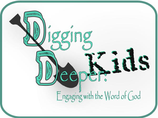 Digging Deeper Kids:  Verse Mapping
