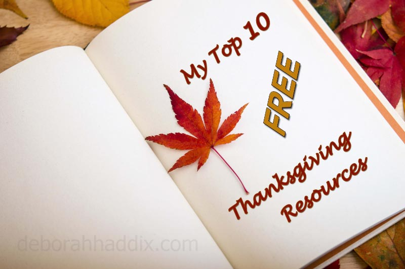 My Top 10 Thanksgiving Resources