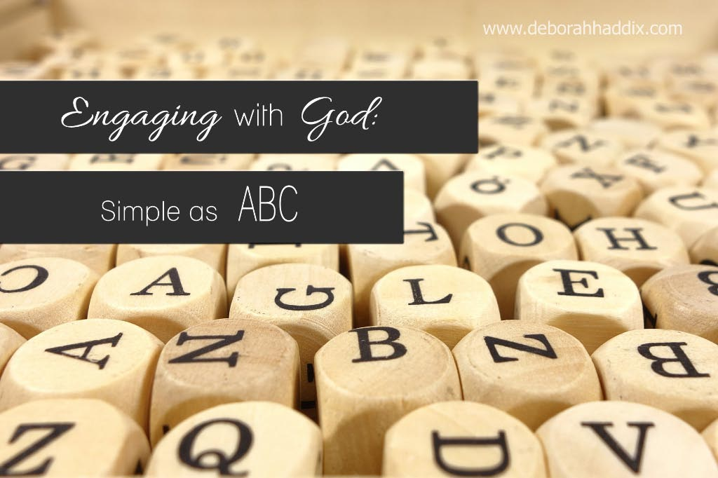 Engaging with God: Simple as ABC